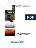 2008 Tourism Year in Review Thunder Bay