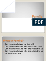 Family - Socio Presentation