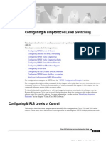 Configuring Multiprotocol Label Switching