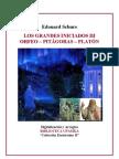 1889-LOS GRANDES INICIADOS, ORFEO, PITÁGORAS Y PLATÓN (Édouard Schuré)