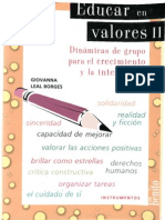 Leal, Giovanna - Educar en Valores 02