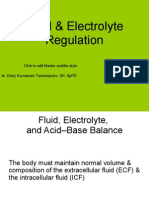 Electrolyte&Fluid Balance Simple Dr.dicky,SpPD