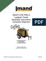 Nl Pro i i Ld Container Shipment Assembly Instructions