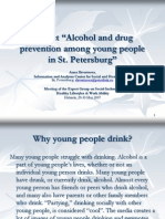 Skvortsova a. Project on Alcohol & Drug Prev Among Young People in SPb