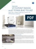 WNS PTP Radios Durability