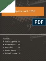 Companies Act, 1956