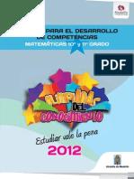 Matematicas Grado 10-11-2012