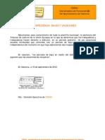 2012-09-10 Jurisprudencia sobre bajas y vacaciones