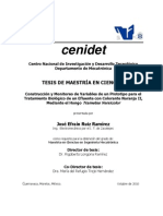 Escalamiento biorreactores-Cenidet
