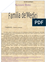 Alexandre Dumas Familia de Medici