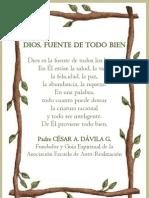 P. Dávila (Dios, fuente de todo bien)