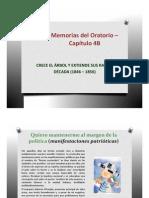 Memorias del Oratorio Capítulo 4B