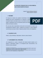 ENSAYO - DERECHO LABORAL COLECTIVO