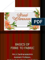 Basics of Fibre to Fabric