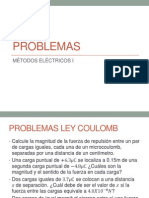 Problemas 01 Ley de Coulomb