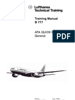 B777 Quick Reference | Aircraft Flight Control System | Flight