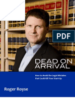 Dead on Arrival Roger Royse
