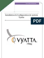 Installation & Configuration de System Vyatta