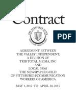 2012 Monessen Contract