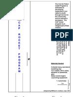 Civil Air Patrol Rocket Plans