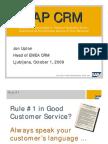 SAP CRM Evaluation