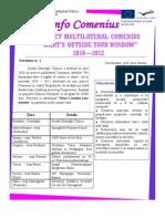 Info Comenius 2010 -1