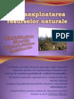 Supraexploatarea Resurselor Naturale Ardelean Simina Clasa a Viiia