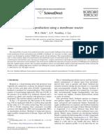 Biodiesel Reator de Membrana