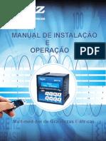 Manual Multimedidor de Grandezas Elétricas MRI TF 92 Renz