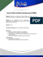 Curso-Taller de Redes Sociales para PYMES