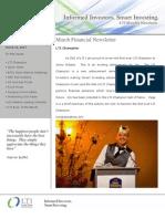LTI Newsletter - Mar 2011