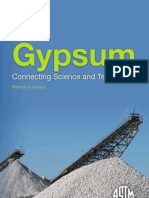 Gypsum - Connecting Science and Technology (9780803170155)