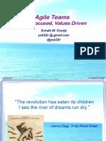 Shalk Cronje - AgileTeams Value Focused Values Driven AOTB2012