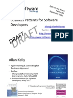 Allan Kelly - Business Patterns AOTB2012