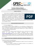 Propes Revista Ciencia Junior