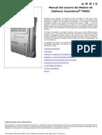 TM602 User Guide ES manual