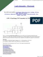 1.5W 1-2 Km Range FM Transmitter by 2N2219_ Circuit Project