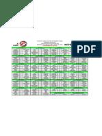 Calendario JPS 2012