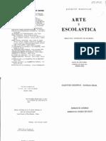 Maritain, Jcques - Arte y Escolastica