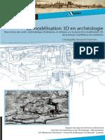 """Mémoire professionnel universitaire, """"La modélisation 3D en archéologie, de la mesure scientifique à la médiation"""", Christophe DEUTSCH-DUMOLIN"""