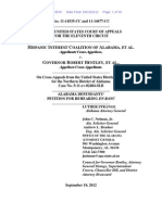 Alabama's Petition for Rehearing En Banc (11th Cir. Sept. 10, 2012)