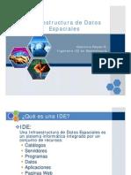 Infraestructura de Datos Espaciales - Giannina Reyes G.