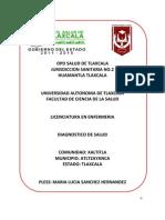 Dx de salud Xaltitla Tlaxcala
