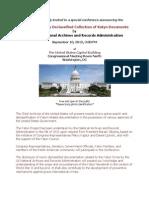 Release of Katyn Documents