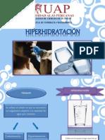 HIPERHIDRATACION