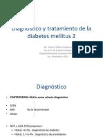 DIAGNÓSTICO Y TRATAMIENTO DE DM2