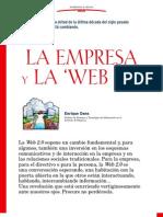 La empresa y la web 2.0