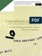 Capitalismo Cognitivo, Propiedad Intelectual y Creación Colectiva.