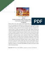 Final Draft Journal Islam and Buddhism Hells