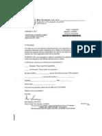 Tax Assessor Letter